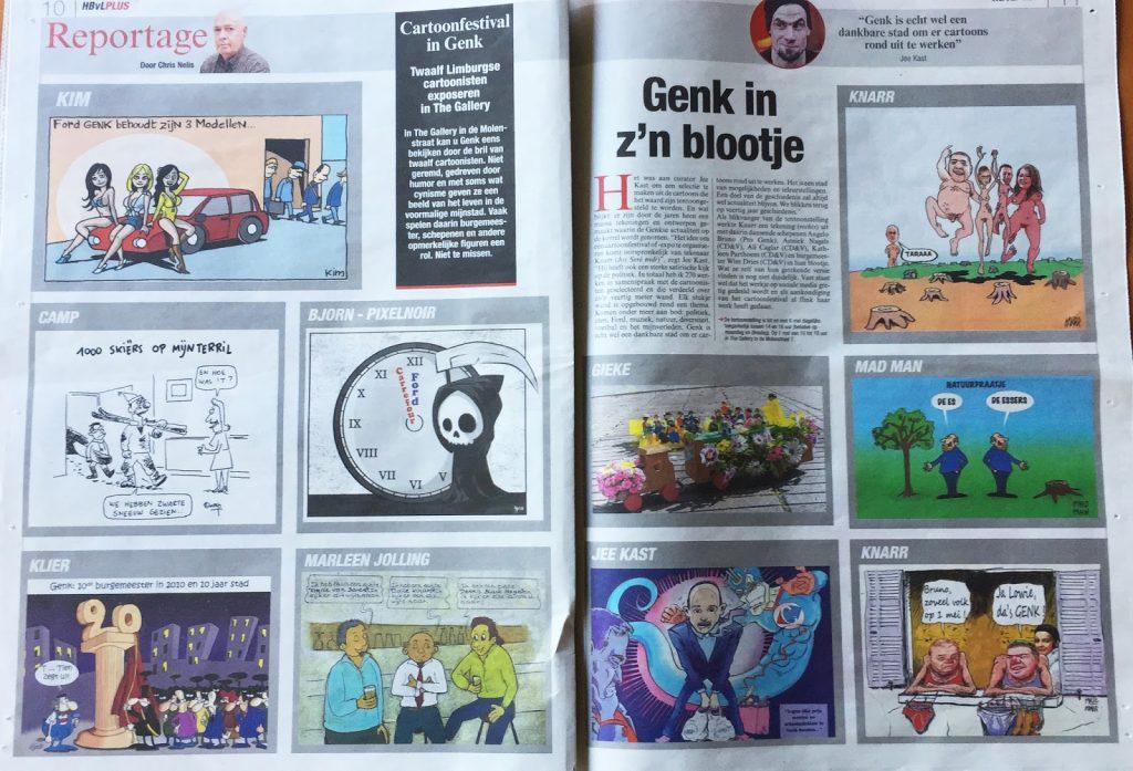 cartoonfestival Genk
